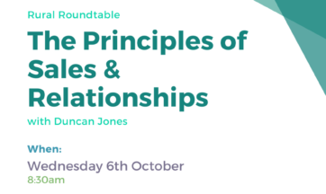 The Principles of Sales & Relationships